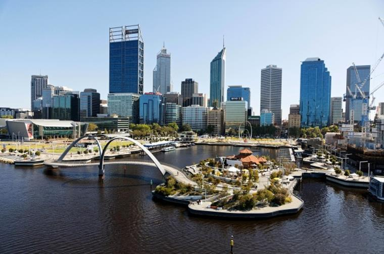 City of Perth from up above