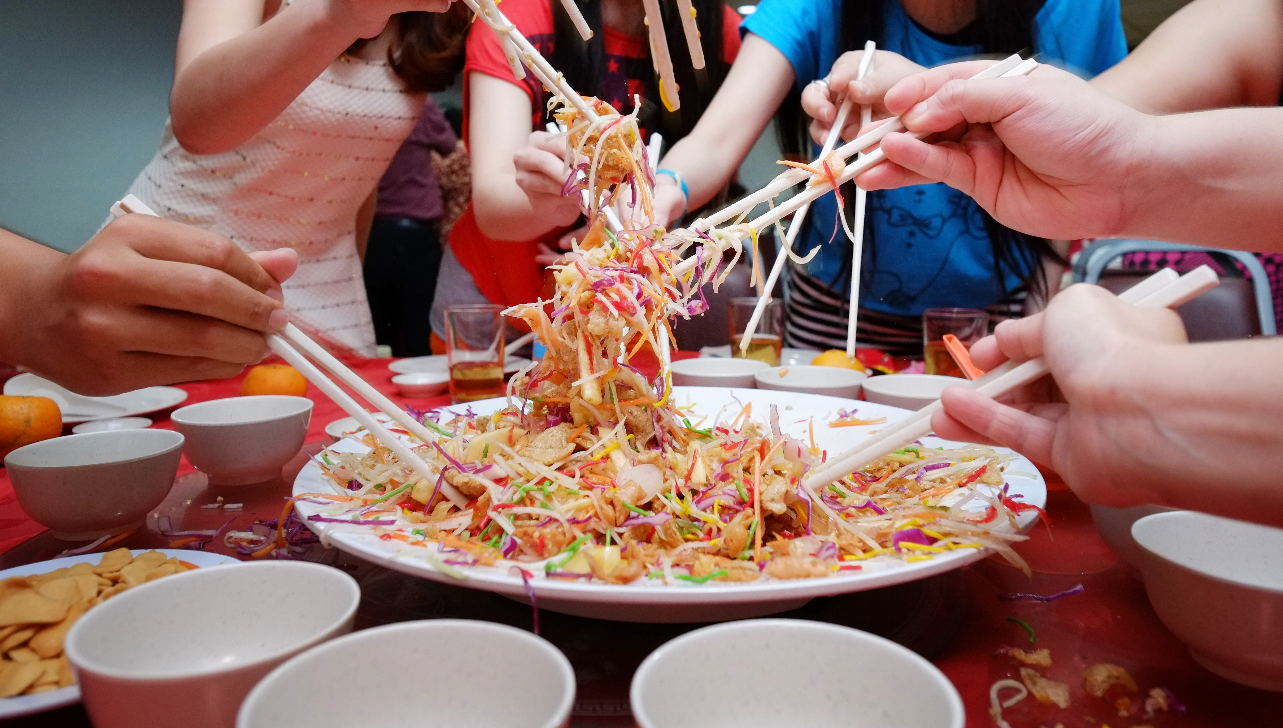 Lunar New Year Celebrations with YuSheng