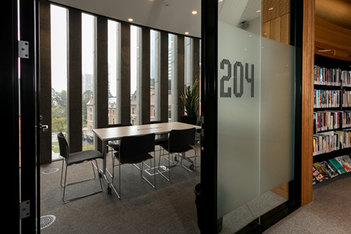 Meeting Room 204 at the City of Perth Library