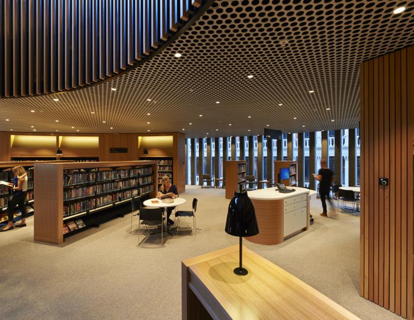 Internal view of City of Perth Library