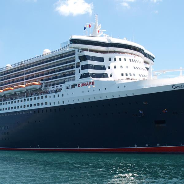 Photograph of The Queen Mary 2 ocean liner