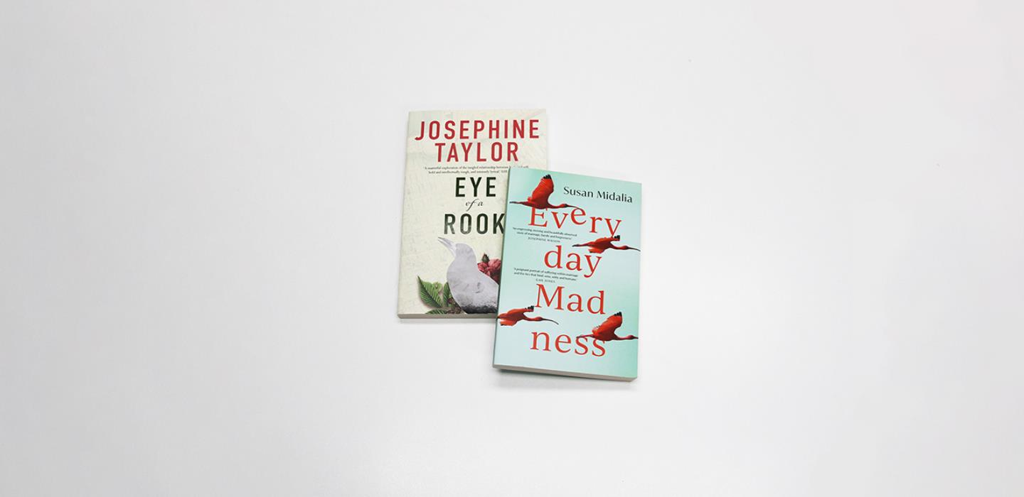 Eye of the Rook and Everyday Madness book covers
