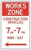 works zone